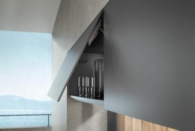 Надежная фурнитура для тонких материалов - система крепления EXPANDO T для AVENTOS HK top