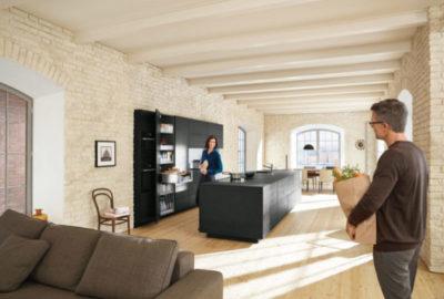 Кухня-студия в тренде - кухню, гостиную и столовую сегодня объединяют в одно целое