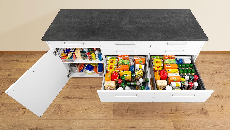На правильній кухні дотримано основних правил ергономічної кухні – тоді працюється швидко й зручно